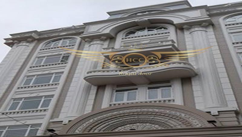 Lắp đặt công trình cửa nhôm kính cao cấp Royaldoor - HCC tại Hải Phòng